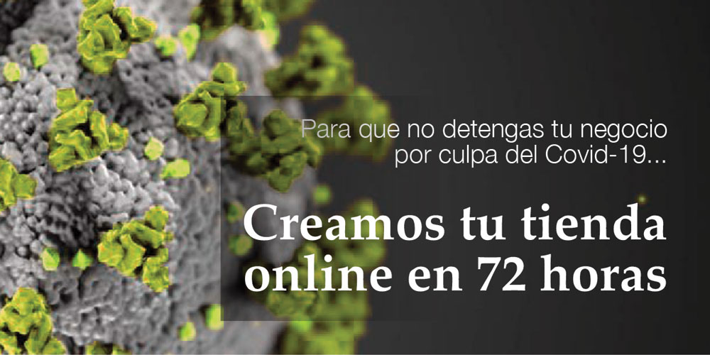 Te ayudamos a digitalizar tu negocio en 72 horas con nuestra oferta durante el Covid - Pressfactory, creación de tienda online, creación de página web, traducciones y SEO.